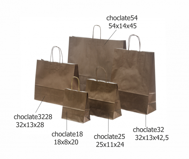 Dark Brown Paper Bags