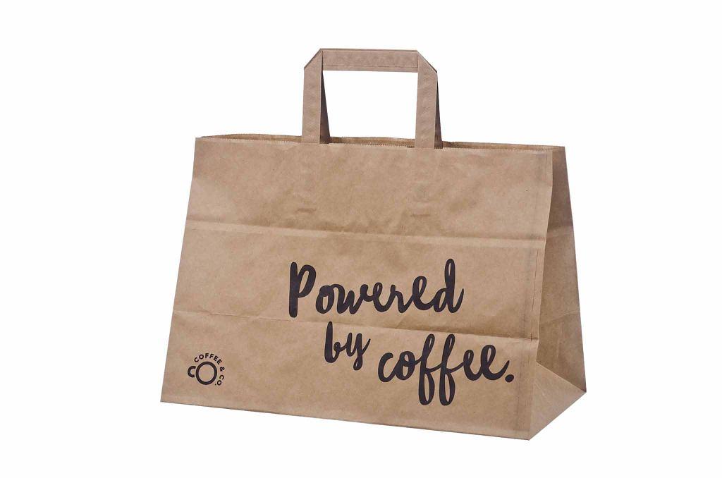 Take Away Paper Bag With Print Galleri Take Away Paper Bags