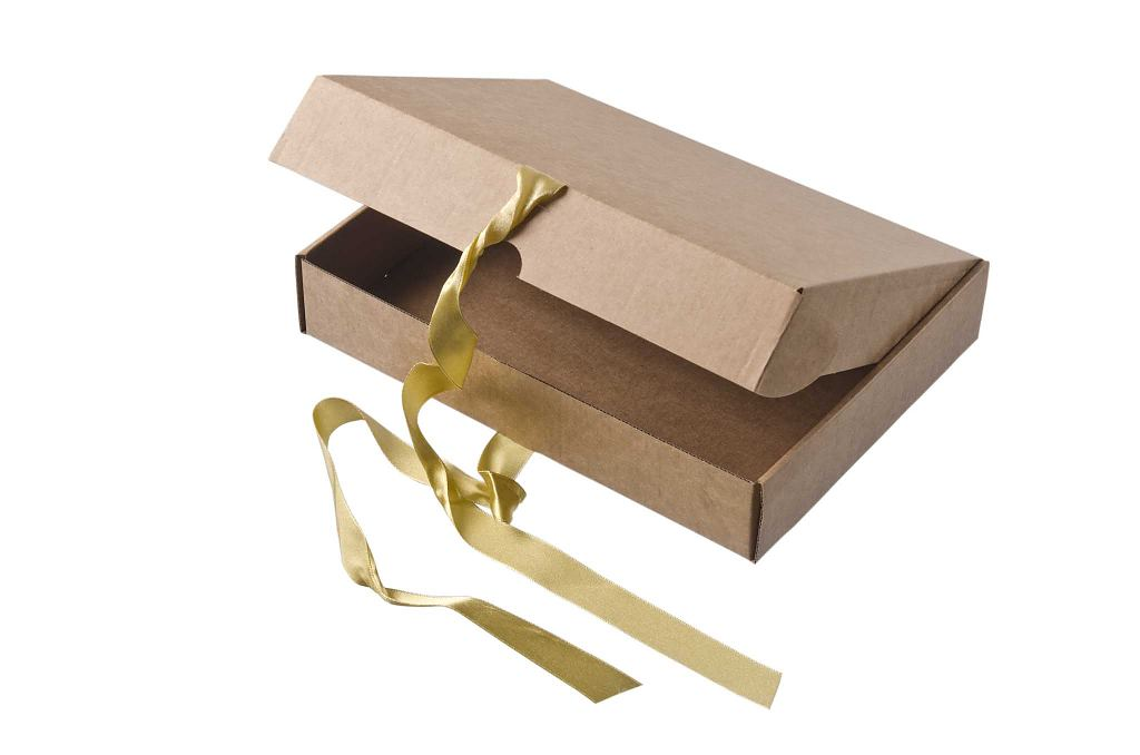 durable corrugated cardboard box with personal design